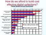 how do we afford to build cost effective digital collections