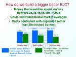 how do we build a bigger better ejc
