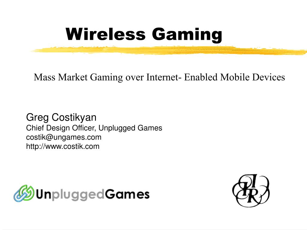 wireless gaming l.