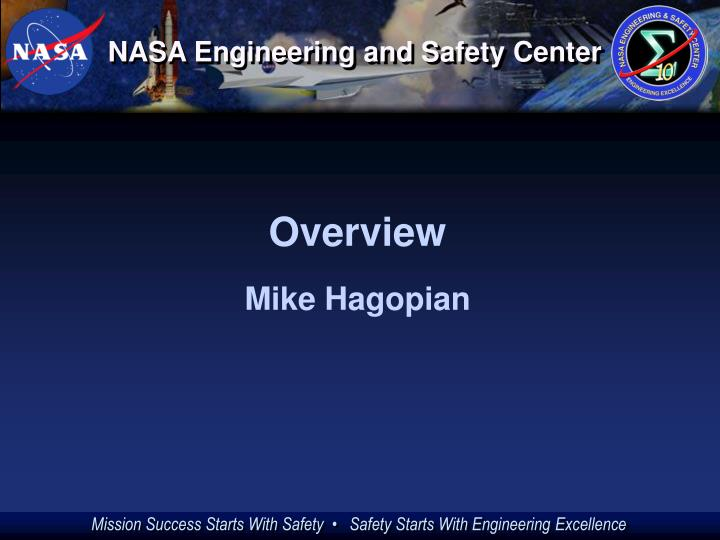 Nasa engineering and safety center3