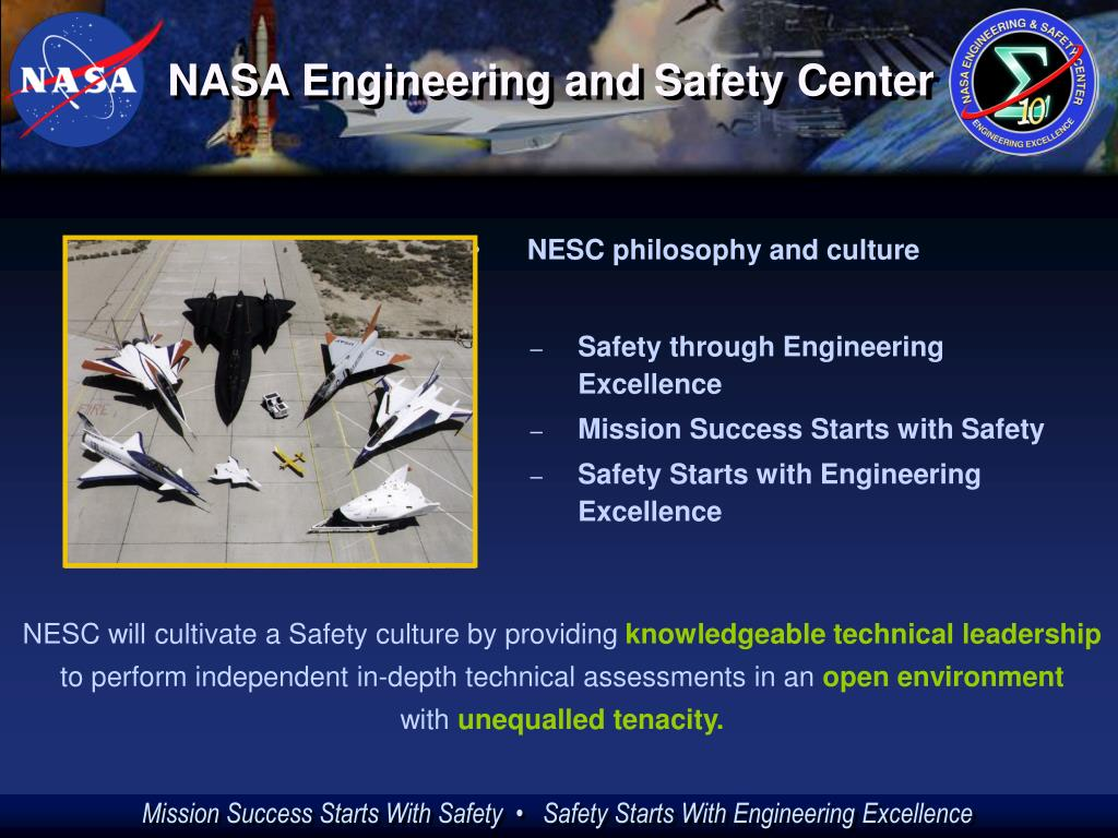 NESC philosophy and culture