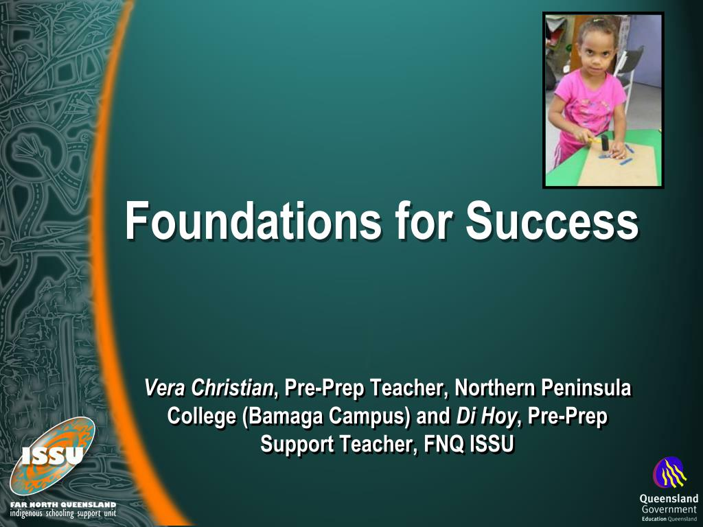 foundations for success l.
