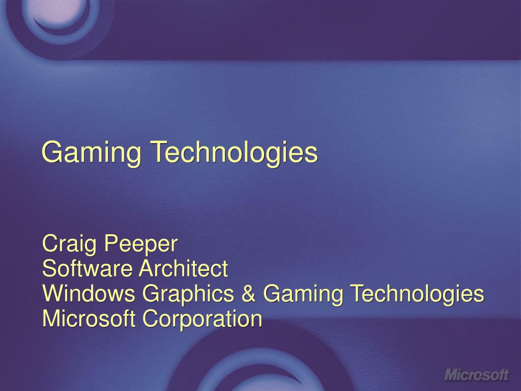 gaming technologies l.