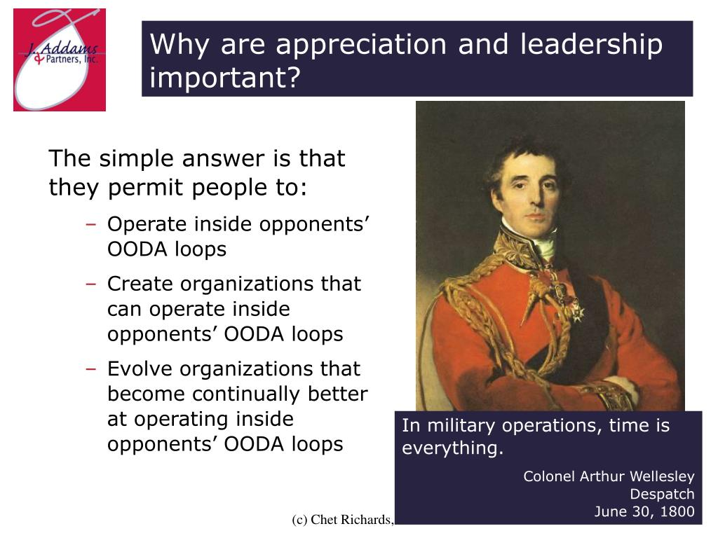 Why are appreciation and leadership important?