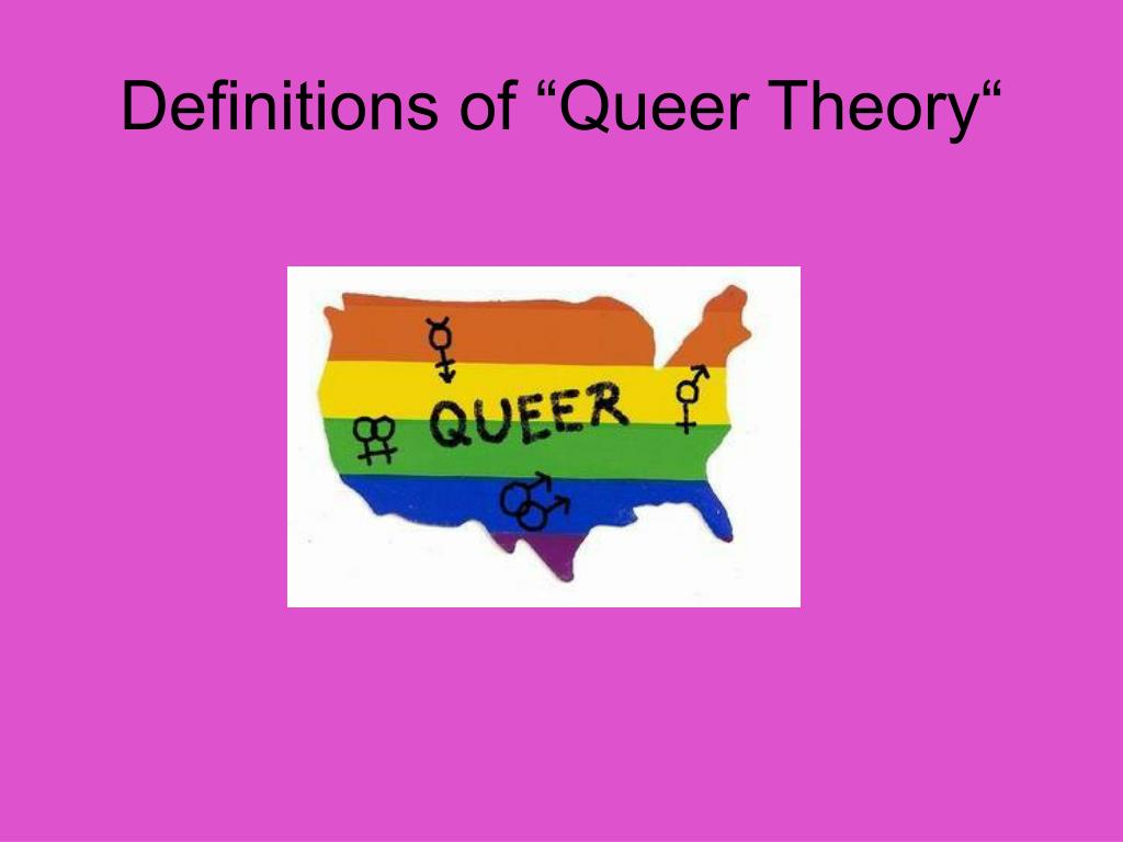 definitions of queer theory l.