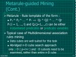 metarule guided mining cont