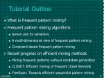 tutorial outline50