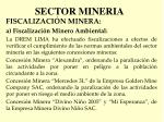 sector mineria