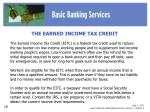 slide 2 eitc lesson reference basic banking services activity 1 handout 2