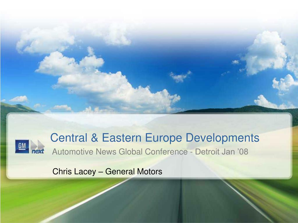 central eastern europe developments l.
