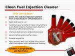 cleen fuel injection cleaner