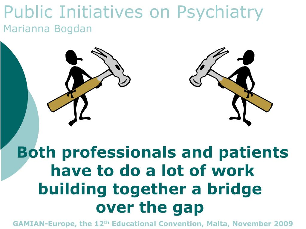Both professionals and patients