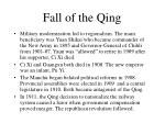 fall of the qing