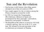 sun and the revolution
