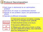 protocol decomposition
