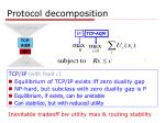 protocol decomposition44