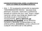 convencion internacional sobre la eliminacion de todas las formas de discriminaci n racial