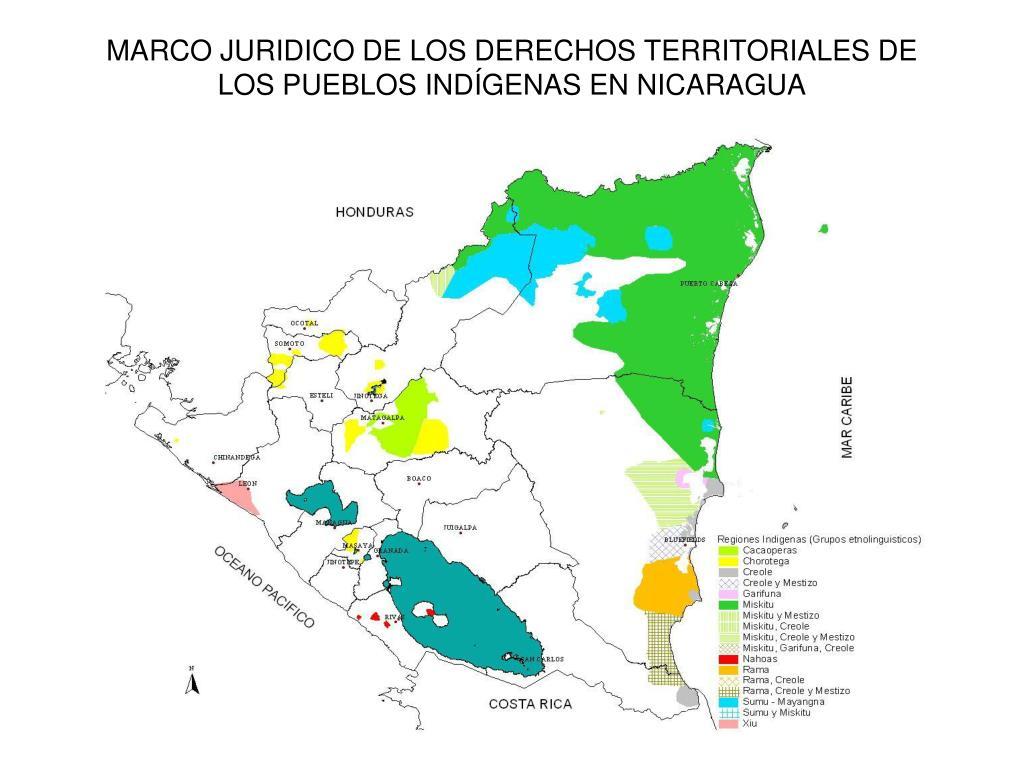 marco juridico de los derechos territoriales de los pueblos ind genas en nicaragua l.