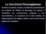 la identidad nicarag ense31
