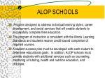 alop schools