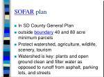 sofar plan
