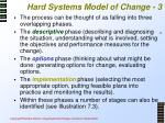 hard systems model of change 3