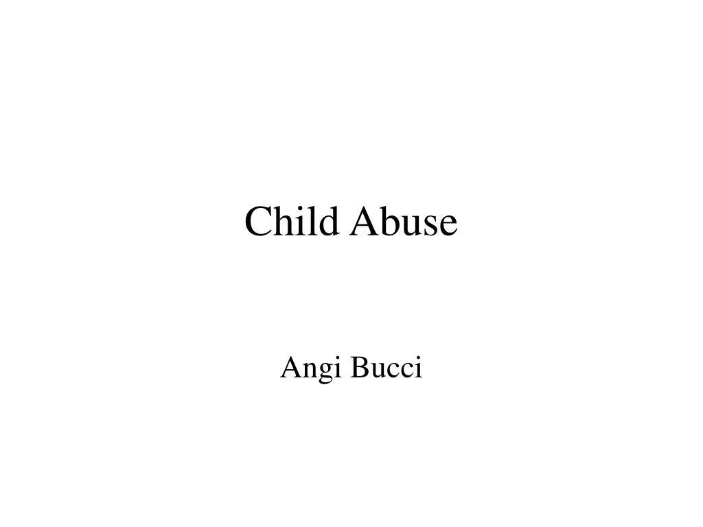 child abuse l.