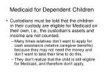 medicaid for dependent children45