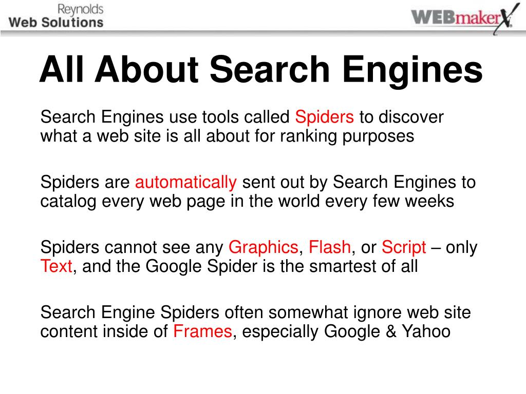 Catalogs and search engines: a selection of sites