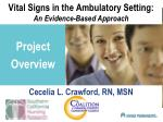 vital signs in the ambulatory setting an evidence based approach