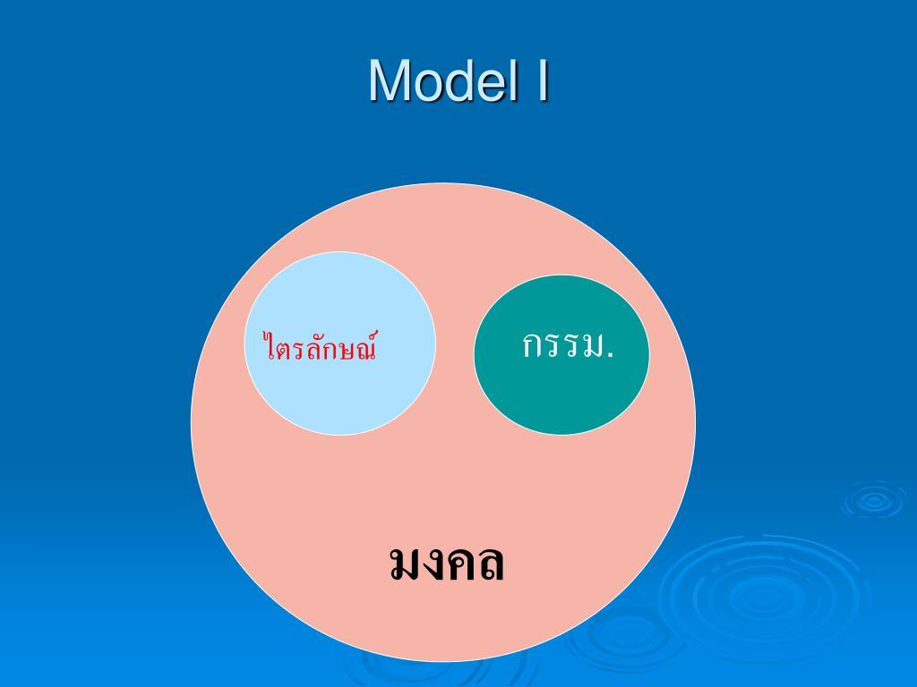 Model I