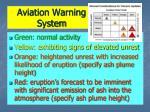 aviation warning system