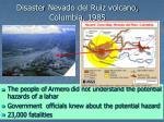 disaster nevado del ruiz volcano columbia 1985