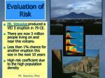 evaluation of risk54