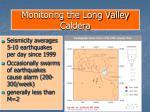 monitoring the long valley caldera23