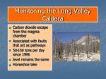 monitoring the long valley caldera32