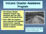 volcanic disaster assistance program44