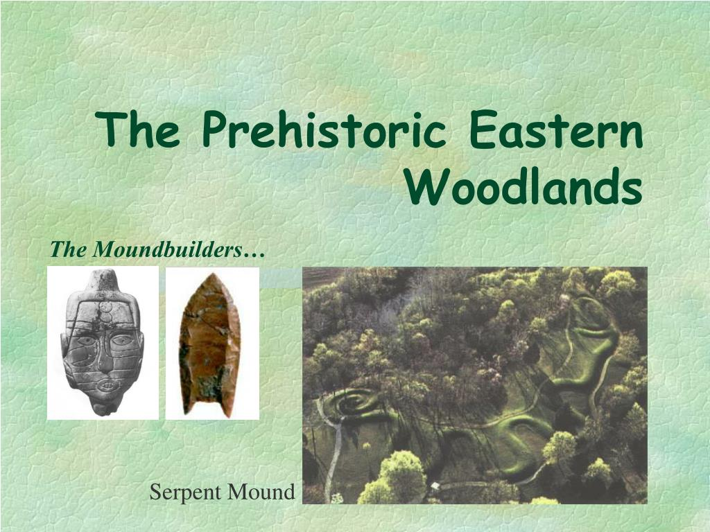 the prehistoric eastern woodlands l.