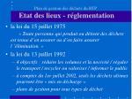 plan de gestion des d chets du btp etat des lieux r glementation