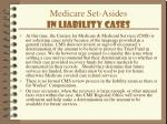 medicare set asides in liability cases