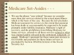 medicare set asides30