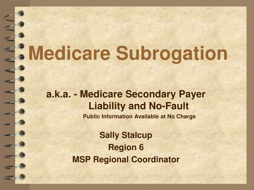 medicare subrogation l.