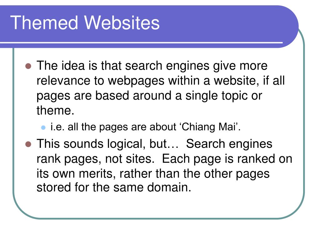 Themed Websites