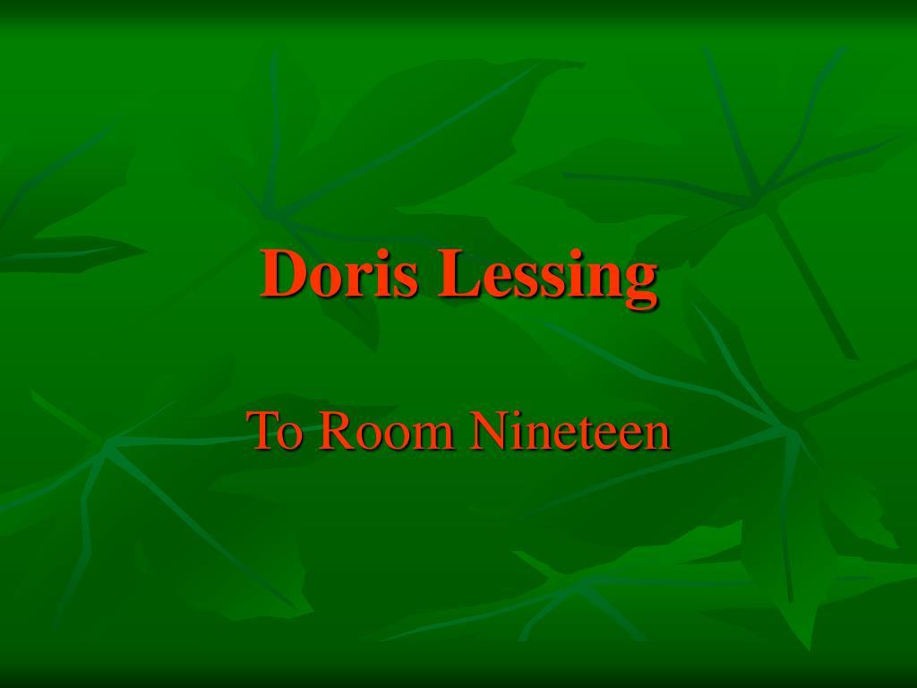 doris lessing l.