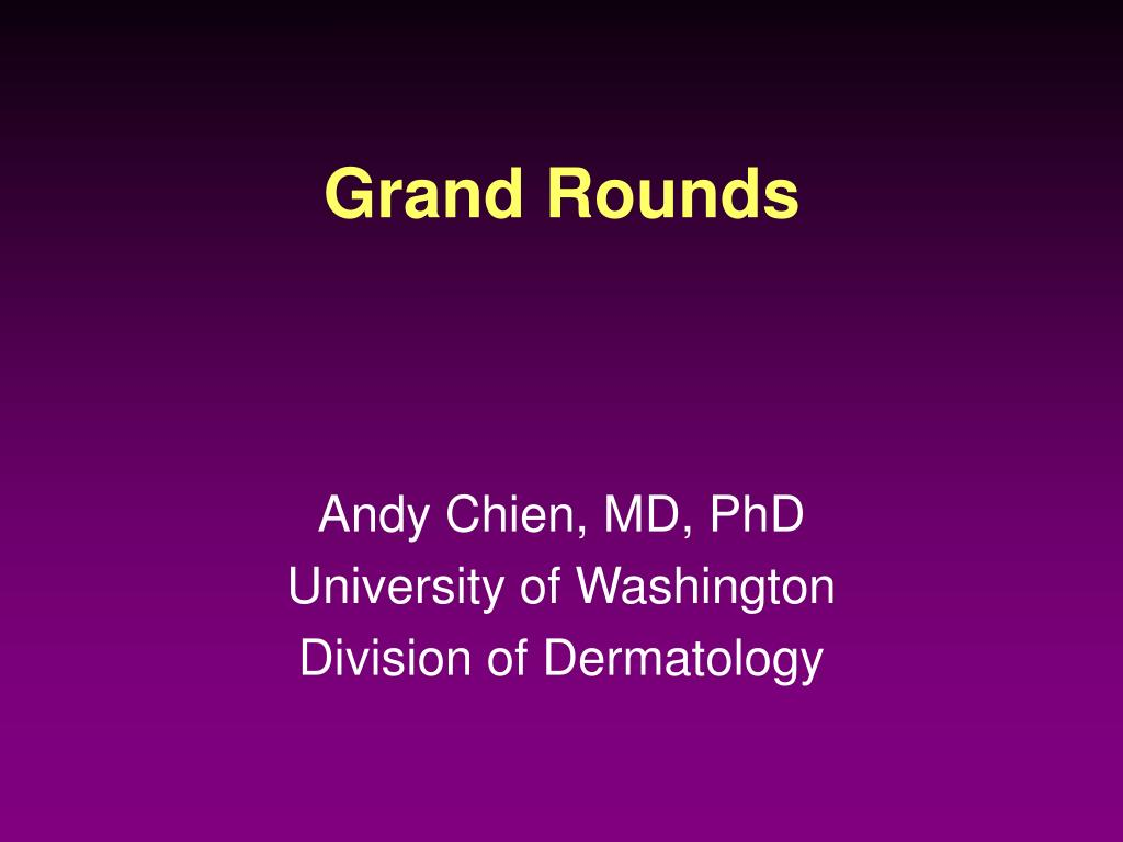 grand rounds l.