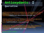 antioxydants i quercetine