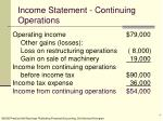 income statement continuing operations4