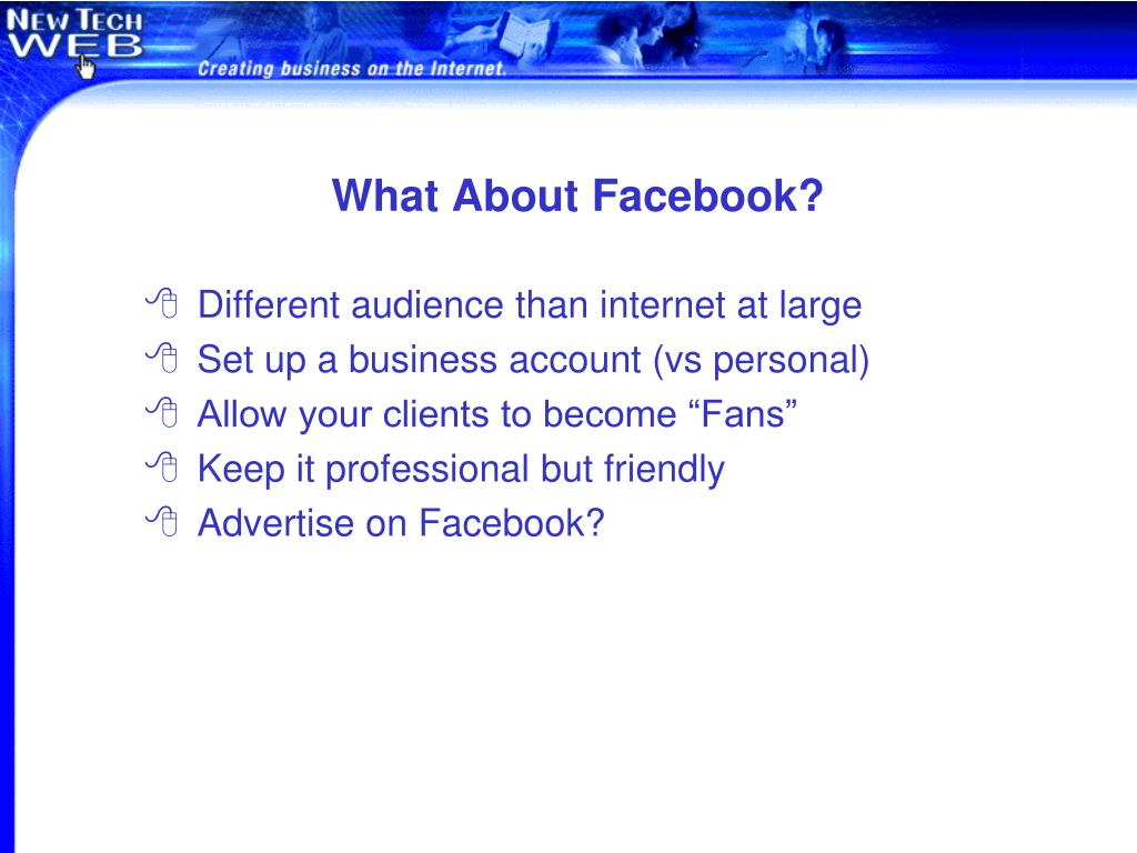 What About Facebook?