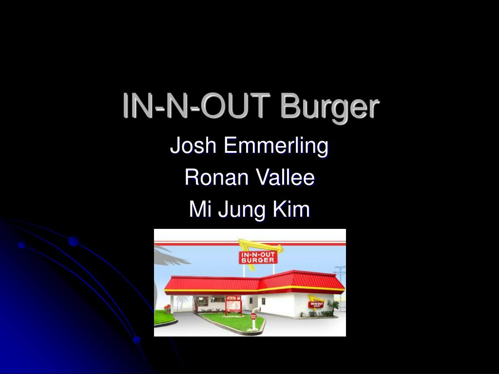 in n out burger l.