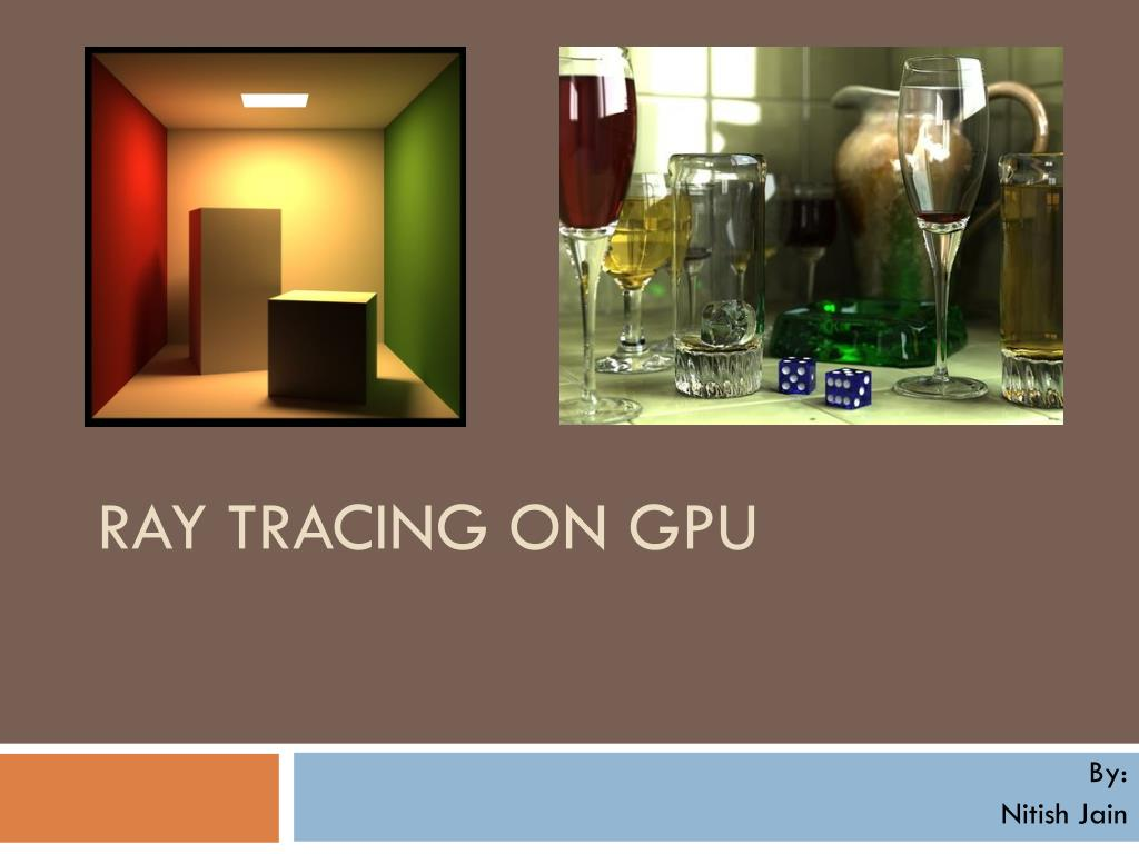 ray tracing on gpu l.